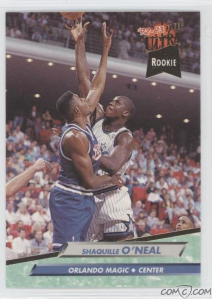 #1000000 - 1992-93 Fleer Ultra #328 Shaquille O'Neal