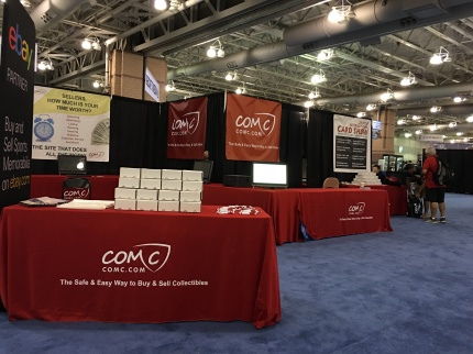 The COMC booth!