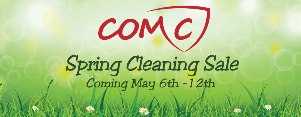 The COMC Spring Cleaning Sale is Coming May 6th-12th!
